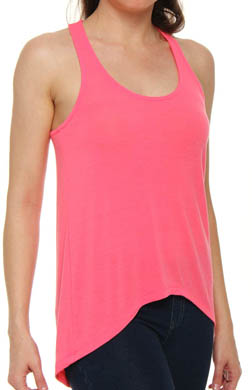 Splendid Drapey Lux Jersey Hi Low Sleeveless Tee
