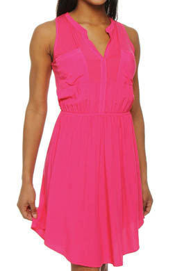 Splendid Rayon 2 Pocket Sleeveless Dress