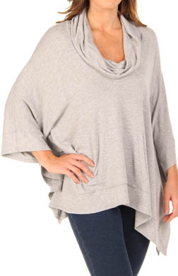 Splendid Super Soft Knit Cowl Poncho