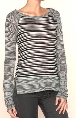 Splendid West Village Loose Knit Pullover