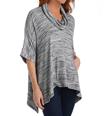 Splendid Brushed Tri-Blend Cowl Poncho