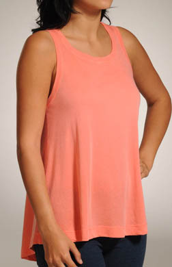 Splendid Vintage Whisper Hi Low Sleeveless Tee