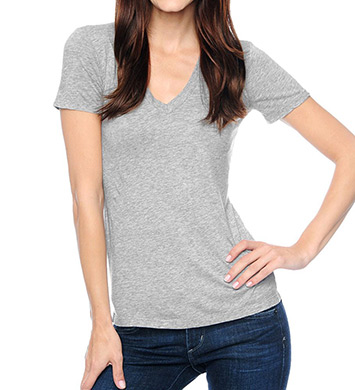 Splendid Jersey V-Neck Tee Shirt