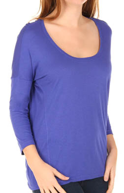 Splendid Very Light Jersey Drop Shoulder Tee