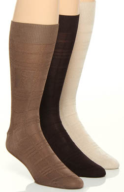 Stacy Adams Classics Gemstone Socks - 3 Pack
