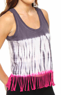 Steve Madden To Dye For Tie-Dye Fringe Tank