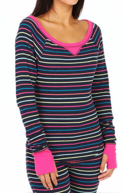 Steve Madden Cozy Up Thermals Thermal Top
