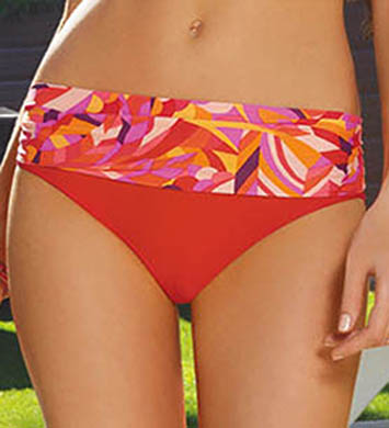 Sunsets Citrus Banded Swim Bottom