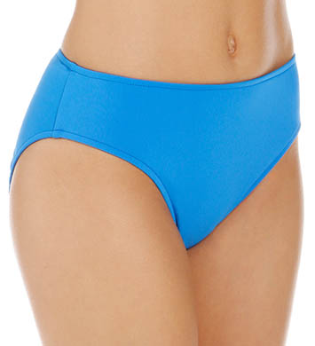 Sunsets Tile Blue Basic Swim Bottom