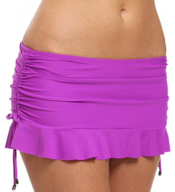 Swim Systems Ultraviolet Flirty Skirted Swim Bottom