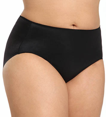 TC Fine Intimates Microfiber Wonderful Edge Brief Plus Size Panties