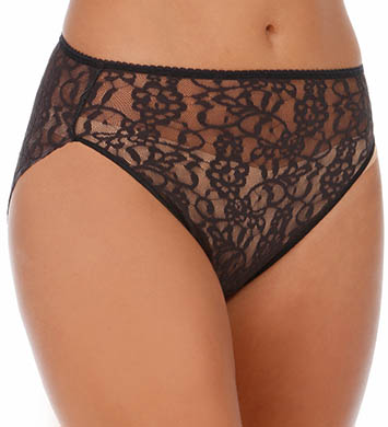 TC Fine Intimates Wonderful Edge All Over Lace Hi-Cut Brief Panty