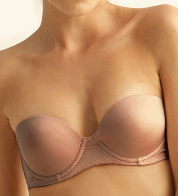 The Little Bra Company Strapless Convertible Push Up Underwire Petite Bra