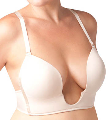 The Natural Plus Size Sexy Plunge Bra