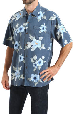 Tommy Bahama Palace Floral Silk Camp Shirts