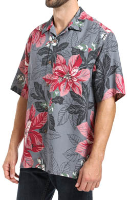 Tommy Bahama Half Pipe Holiday Silk Camp Shirt