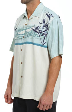 Tommy Bahama Vintage Tides Silk Camp Shirt