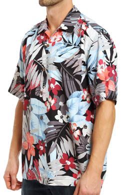Tommy Bahama Ambeyonce Silk Camp Shirt