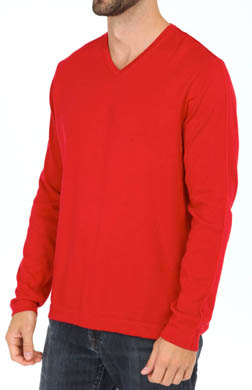 Tommy Bahama Island Deluxe V-Neck Cashmere Blend Sweater