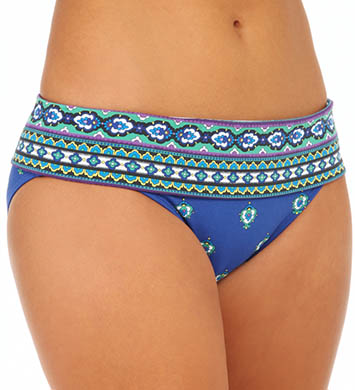Tommy Bahama Foulard Frenzy Wide Band Hipster Swim Bottom