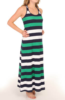 Tommy Bahama Mare Rugby Stripe Racerback Maxi Dress