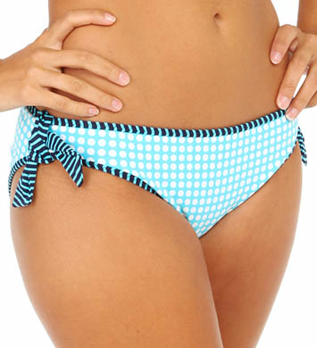 Tommy Bahama Baia Hot Dot & Stripe Reversible Swim Bottom