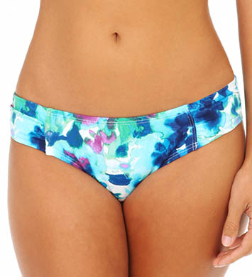 Tommy Bahama Watercolor Floral Side Shirred Hipster Swim Bottom