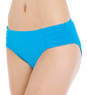Tommy Bahama Pearl Solids Pleated Hipster Swim Bottom