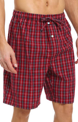 Tommy Hilfiger Poplin Plaid Sleep Jam