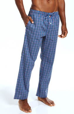 Tommy Hilfiger Poplin Plaid Sleep Pant