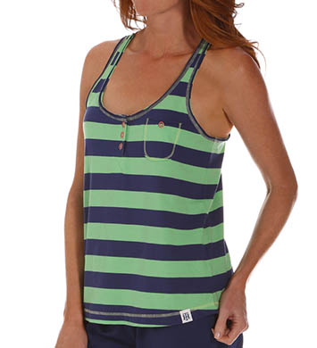 Tommy Hilfiger Reverse Printed T-Strap Tank