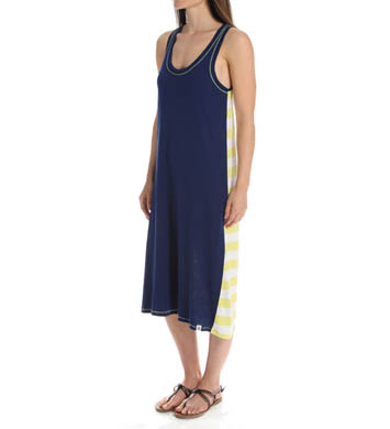 Tommy Hilfiger Stripe Back Maxi Dress
