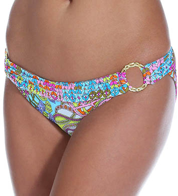 Trina Turk Coral Reef Buckle Side Hipster Swim Bottom