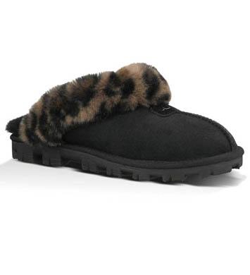 UGG Australia Coquette Leopard Slippers