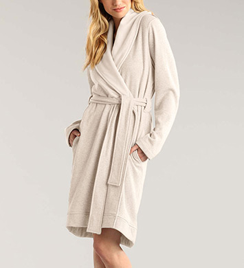 UGG Australia Blanche Double Knit Short Robe