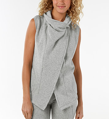 UGG Australia Lightweight Knit Roz Cowl Neck Vest