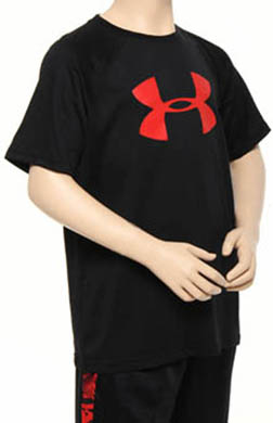 Under Armour Boys Big Logo Tech Tee