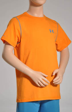 Under Armour Boys Charged Cotton Short Sleeve Tee