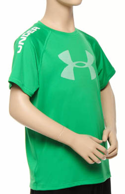 Under Armour Boys UA Ripping Sun-Activated Short Sleeve