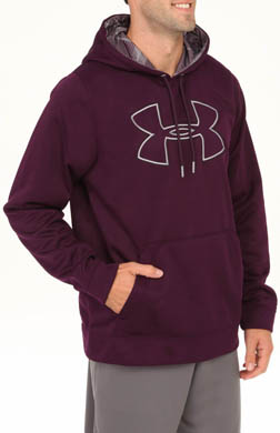 Under Armour Armour Fleece Storm Outline Big Logo Hoody