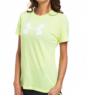 Under Armour UA Charged Cotton Tri Blend Big Logo Crew