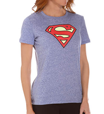 Under Armour Heatgear Supergirl Tri-Blend Shortsleeve Crew