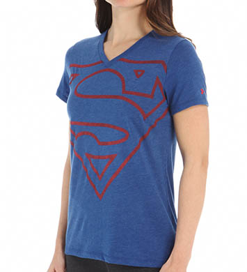 Under Armour Alter Ego Supergirl V-Neck Tee
