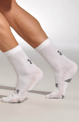 Under Armour HeatGear Training Crew Socks - 4 Pack