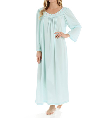 Unmentionables Petals Long Sleeve Embroidered Yoke Gown