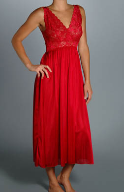 Unmentionables Lace Bodice Gown