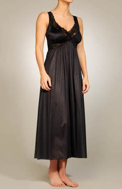 Unmentionables Long Lace Trim Gown