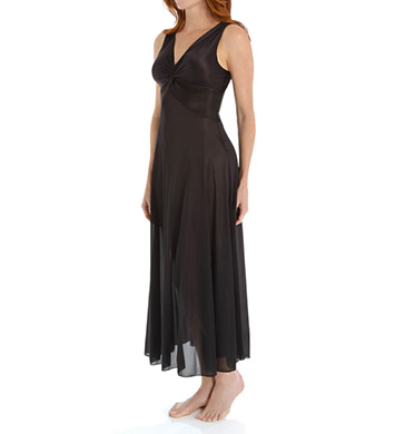 Unmentionables Twist Neck Long Nightgown