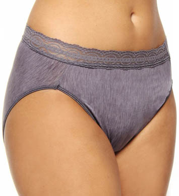 Vanity Fair Illuminations with Lace Hi Cut Panty
