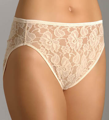 Vanity Fair Illumination Helenca Lace Hi Cut Panty